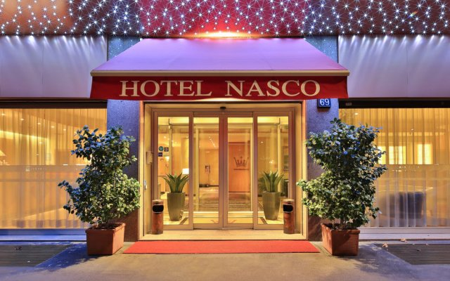 Qualys Hotel Nasco вход в здание