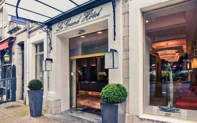 Отель Mercure Bayonne Centre Le Grand Байон вид на фасад