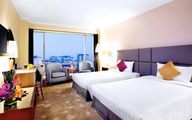 Отель Novotel Beijing Xinqiao Китай, Пекин - 9 отзывов об отеле, цены и фото номеров - забронировать отель Novotel Beijing Xinqiao онлайн комната для гостей
