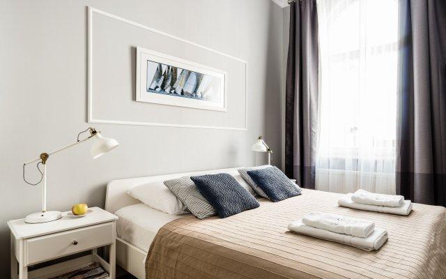 Апартаменты Sanhaus Apartments Сопот комната для гостей