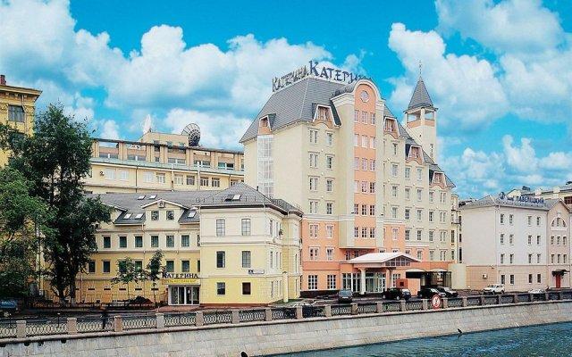 Гостиница Катерина Сити Москва вид на фасад