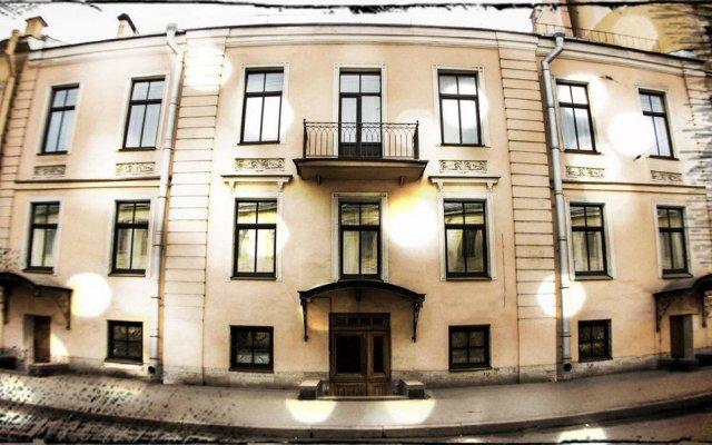 Гостиница Стасов вход в здание