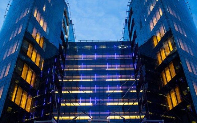 Рэдиссон Блу Шереметьево (Radisson Blu Sheremetyevo Hotel) вид на фасад