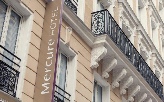 Отель Mercure Paris Opéra Garnier вид на фасад