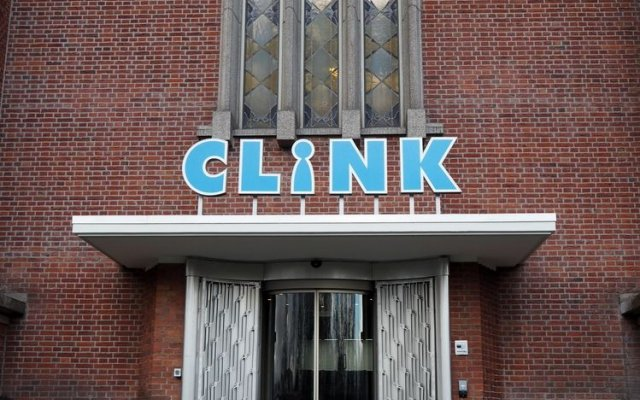 ClinkNOORD - Hostel Амстердам вход в здание