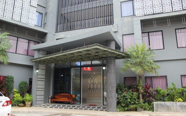 Отель Dinar Lodge деталь интерьера
