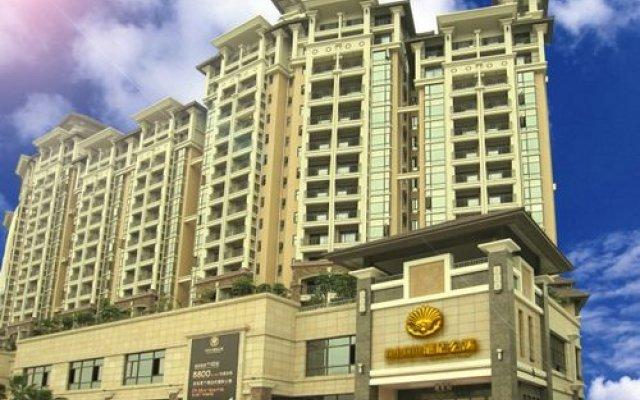 Отель Suntown Sunjoy Hotel Китай, Гуанчжоу - отзывы, цены и фото номеров - забронировать отель Suntown Sunjoy Hotel онлайн вид на фасад