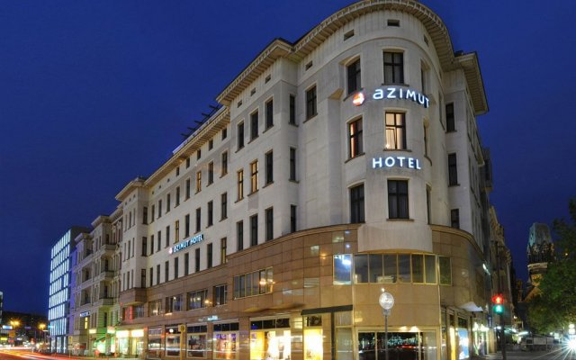 AZIMUT Hotel Kurfuerstendamm Berlin вид на фасад