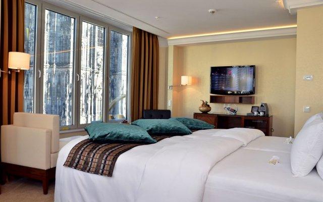 Отель Le Meridien Dom Hotel Германия, Кёльн - 8 отзывов об отеле, цены и фото номеров - забронировать отель Le Meridien Dom Hotel онлайн комната для гостей