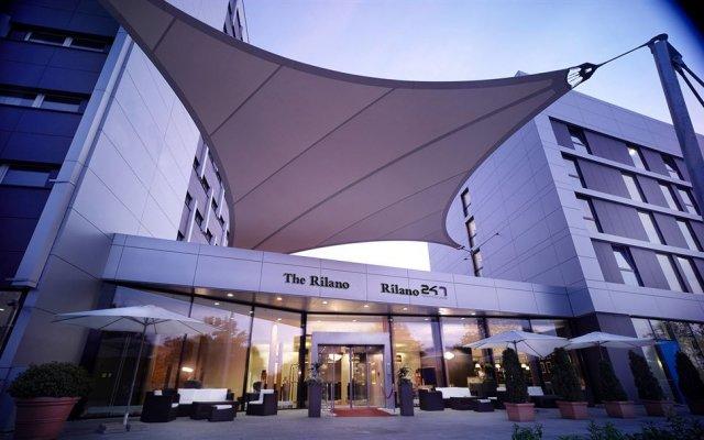 Rilano 24I7 Hotel München вид на фасад