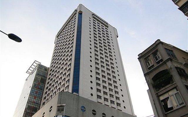 Furama Hotel Guangzhou вид на фасад