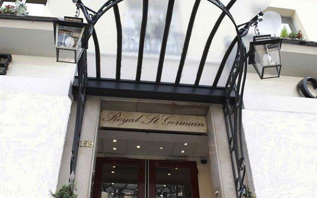 L'Hotel Royal Saint Germain вид на фасад