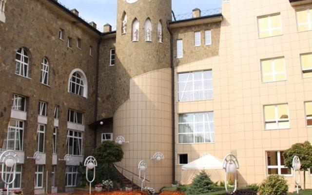 Отель Прага Донецк вид на фасад
