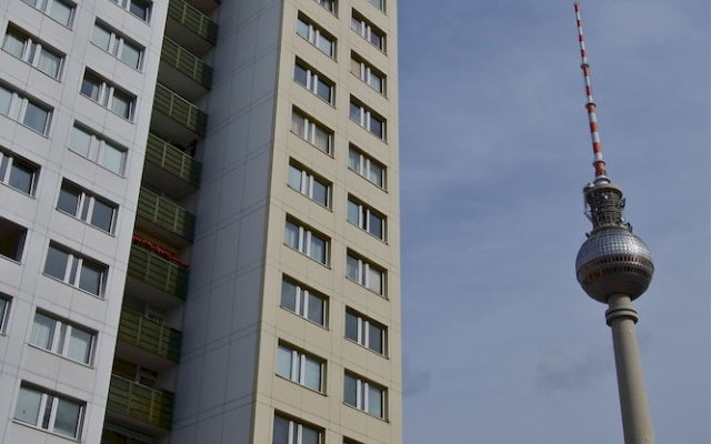 Отель Studios am Alexanderplatz Берлин