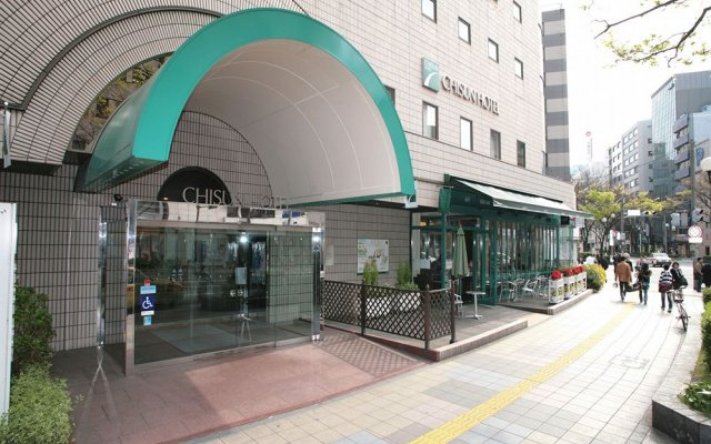 Отель Chisun Hakata Хаката вид на фасад