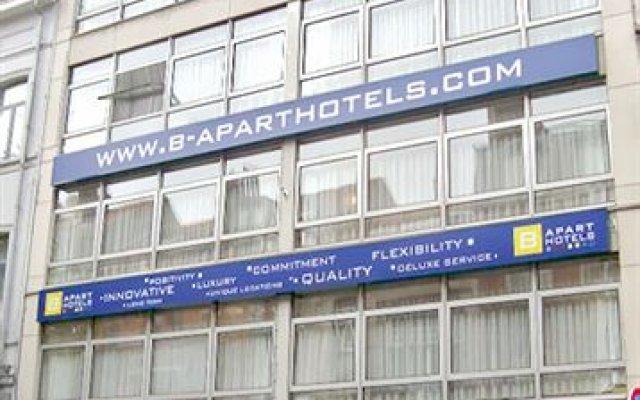 Отель B-Aparthotels Louise Бельгия, Брюссель - отзывы, цены и фото номеров - забронировать отель B-Aparthotels Louise онлайн вид на фасад