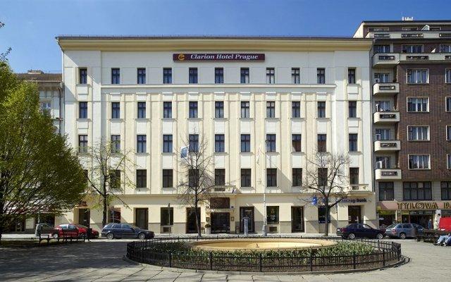 Clarion Hotel Prague City вид на фасад