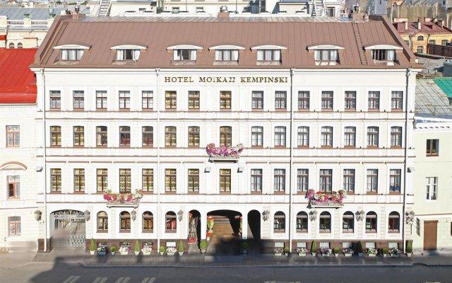 Гостиница Кемпински Мойка 22 вид на фасад