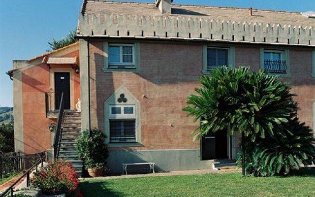 Отель Torre Cambiaso Генуя вид на фасад
