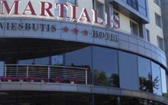 Отель MARTIALIS Литва, Вильнюс - отзывы, цены и фото номеров - забронировать отель MARTIALIS онлайн вид на фасад
