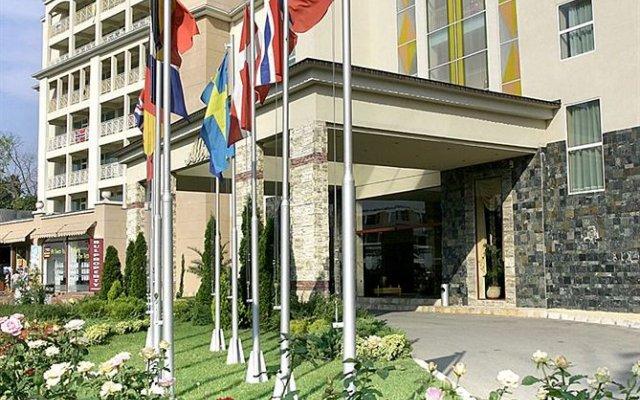 Hotel Alba - Все включено вид на фасад