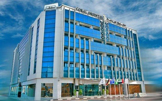 Coral Oriental Dubai Hotel вид на фасад