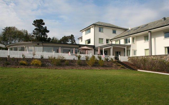 Отель Viste Strandhotell Рандаберг вид на фасад