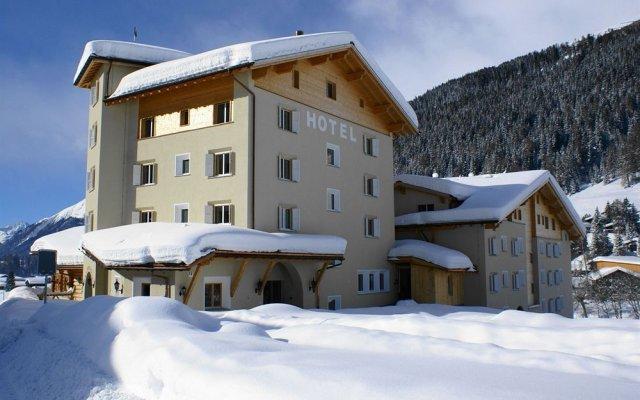 Отель Alpenhof Швейцария, Давос - отзывы, цены и фото номеров - забронировать отель Alpenhof онлайн вид на фасад