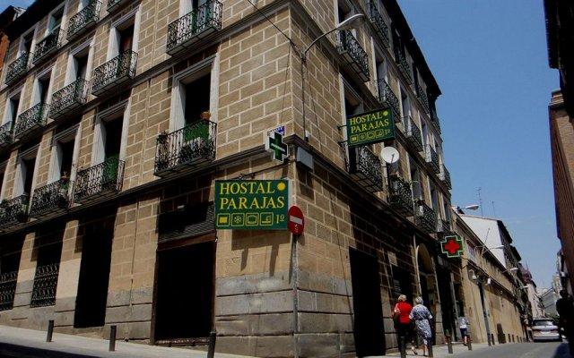 Отель Hostal Parajas Испания, Мадрид - отзывы, цены и фото номеров - забронировать отель Hostal Parajas онлайн вид на фасад