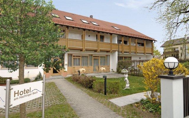 Отель Am Hachinger Bach Германия, Нойбиберг - отзывы, цены и фото номеров - забронировать отель Am Hachinger Bach онлайн вид на фасад