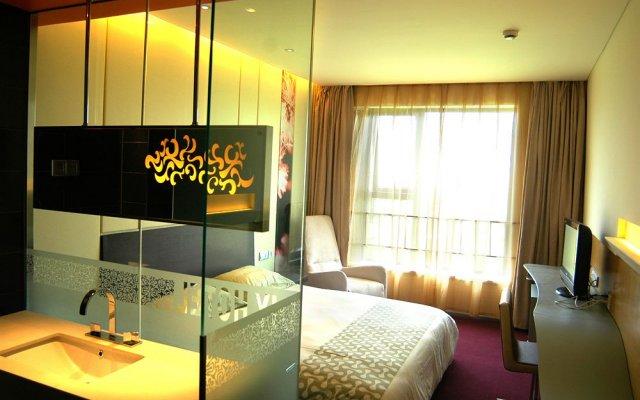 Отель Motel 168 Guangzhou Dadao Inn вид на фасад