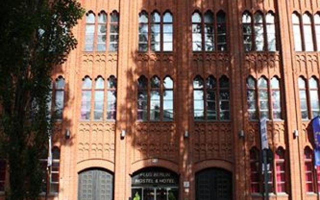 Отель Plus Berlin вид на фасад