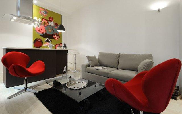 Отель Helzear Montorgueil Apartments Франция, Париж - отзывы, цены и фото номеров - забронировать отель Helzear Montorgueil Apartments онлайн комната для гостей