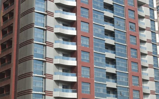 Al Nawras Hotel Apartments Дубай вид на фасад