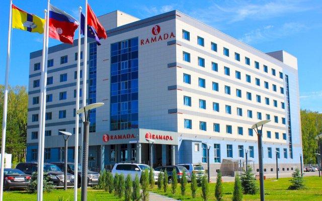 Гостиница Рамада Москва Домодедово популярное изображение