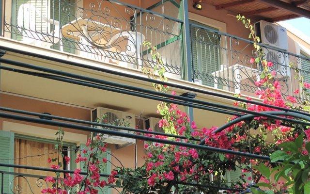 Philippos Hotel вид на фасад