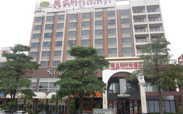 Vienna Hotel Dongguan Houjie Da dao Branch вид на фасад