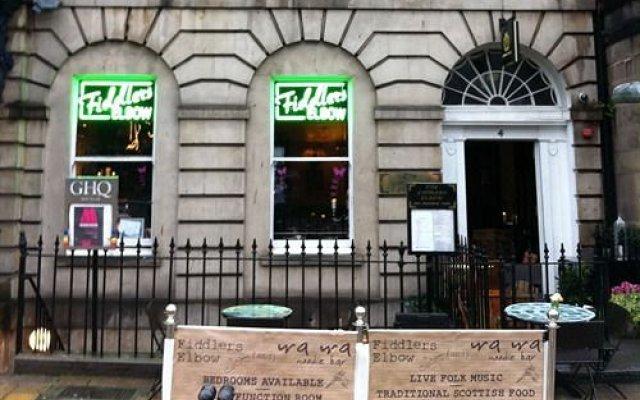 Отель Clouds & Soil Великобритания, Эдинбург - отзывы, цены и фото номеров - забронировать отель Clouds & Soil онлайн вид на фасад