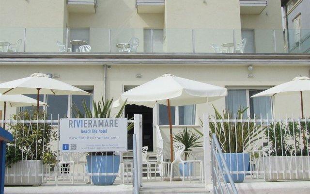 Riviera Mare Beach Life Hotel вид на фасад