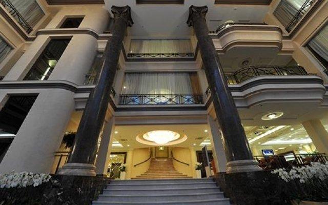 Гостиница Shakhtar Plaza вид на фасад