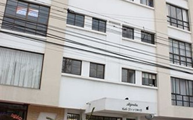 Отель Artur Aparta Suite Alejandria Колумбия, Кали - отзывы, цены и фото номеров - забронировать отель Artur Aparta Suite Alejandria онлайн вид на фасад
