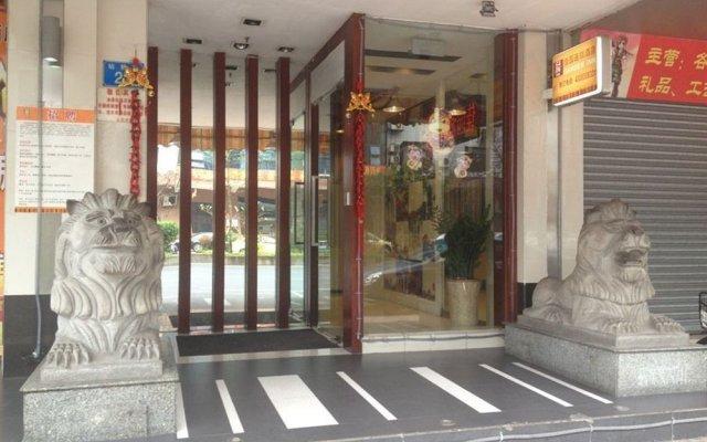 Lingnan Garden Inn Huadu Hotel Guangzhou вид на фасад