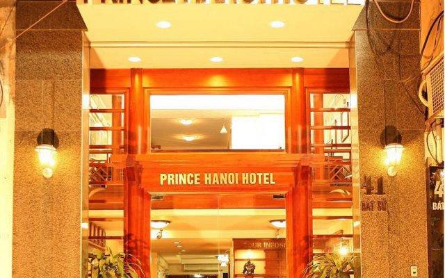 Отель Prince Bat Su Ханой вид на фасад