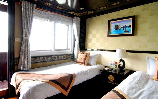 Отель Alova Gold Cruises Halong комната для гостей