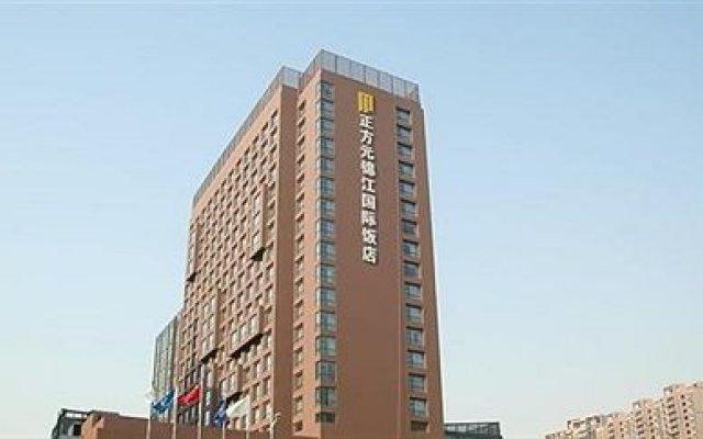 Отель Zhengzhou Zhengfangyuan Jinjiang Inn вид на фасад