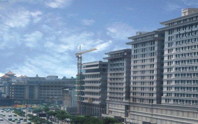 Tiancheng Business Hotel Xian вид на фасад