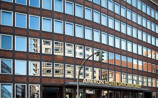 Отель AMERON Hotel Speicherstadt Германия, Гамбург - отзывы, цены и фото номеров - забронировать отель AMERON Hotel Speicherstadt онлайн вид на фасад