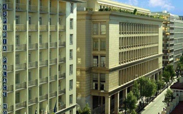 Отель Best Western Esperia Palace вид на фасад