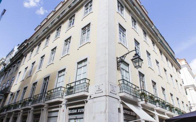 Отель Lisbon Art Stay Apartments Baixa Португалия, Лиссабон - 4 отзыва об отеле, цены и фото номеров - забронировать отель Lisbon Art Stay Apartments Baixa онлайн вид на фасад