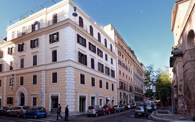 Отель Golden Италия, Рим - отзывы, цены и фото номеров - забронировать отель Golden онлайн вид на фасад